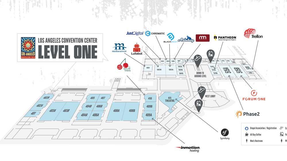 DCLA Venue Map