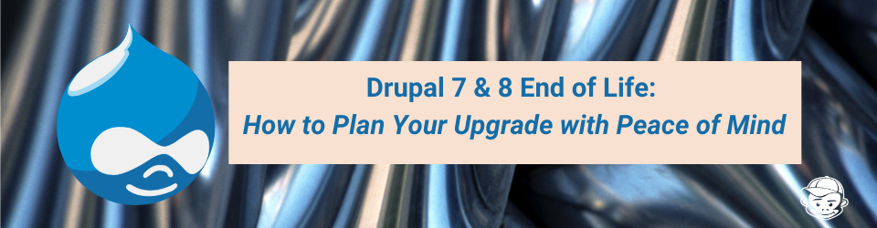 How to Plan for Drupal 7 & 8 end of life for your website