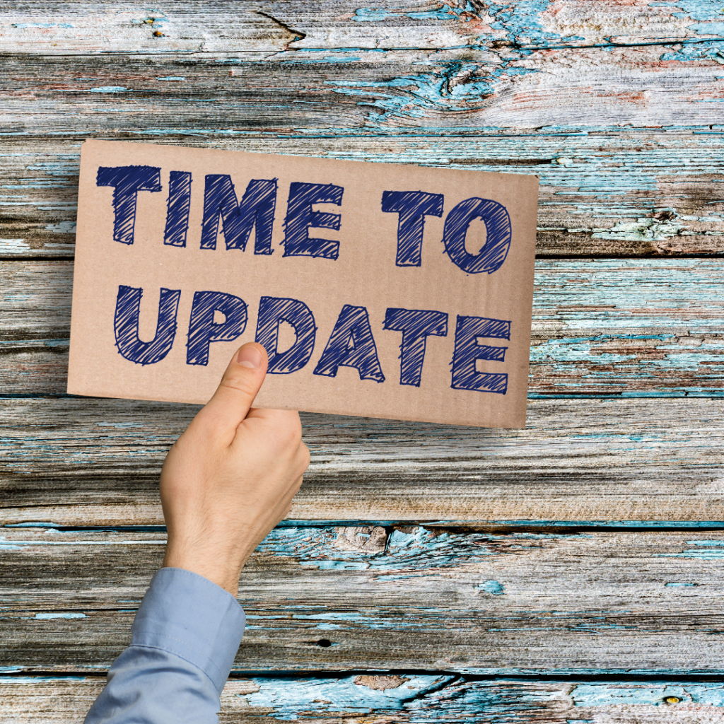 Time to update your site
